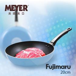 【MEYER】美國美亞Fujimaru藍珊瑚單柄不沾平底鍋20CM(無蓋) 16441