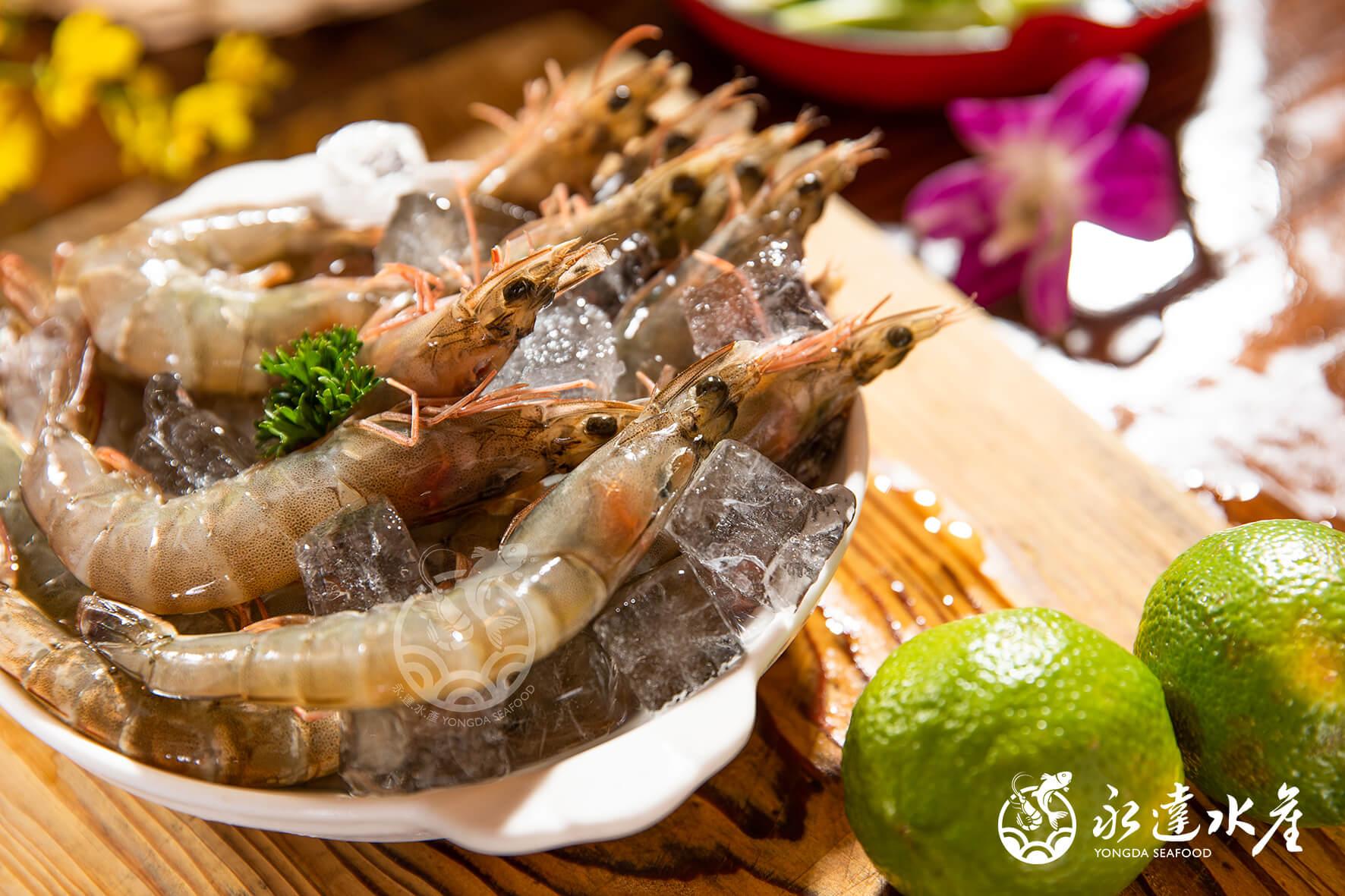 水產|海鮮|鮮凍極品大白蝦|大白蝦|白蝦|白對蝦|白腳蝦|蝦肉|蝦