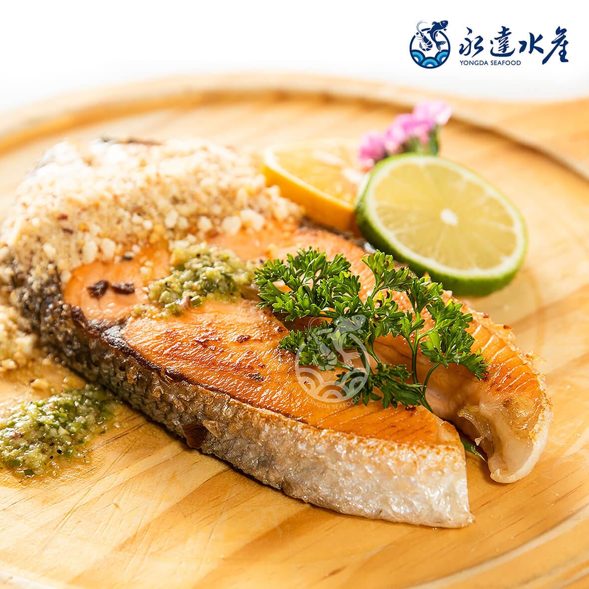 水產|海鮮|智利厚切鮭魚片|鮭魚|三文魚|魚肉|魚|魚片|魚排|OMEGA-3