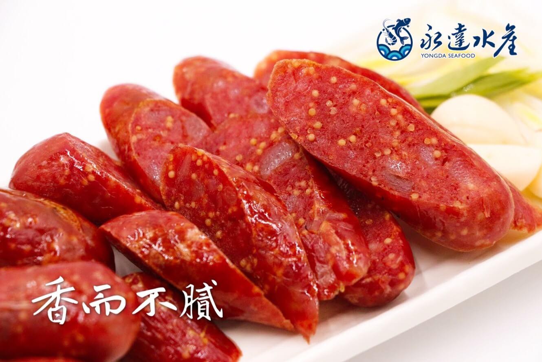 水產|海鮮|肉品|飛魚卵香腸|魚卵香腸|飛魚卵|香腸|飛魚|豬肉|魚卵