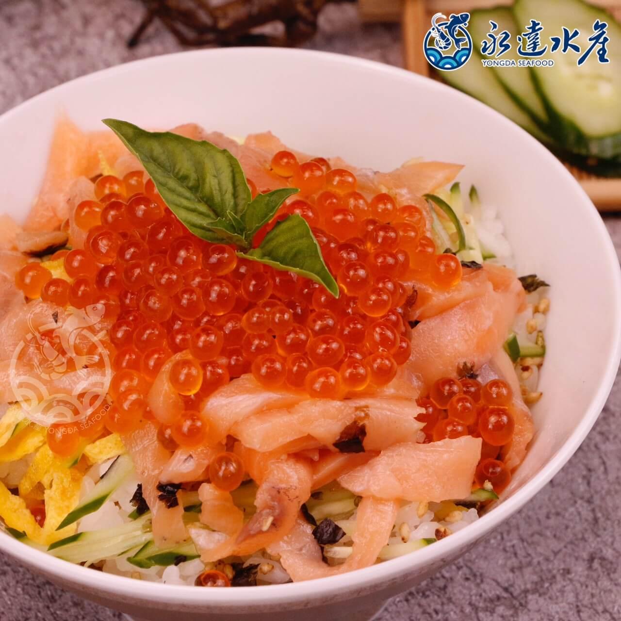 水產|海鮮|日本原裝鮭魚卵|鮭魚卵|三文魚卵|魚卵|OMEGA-3