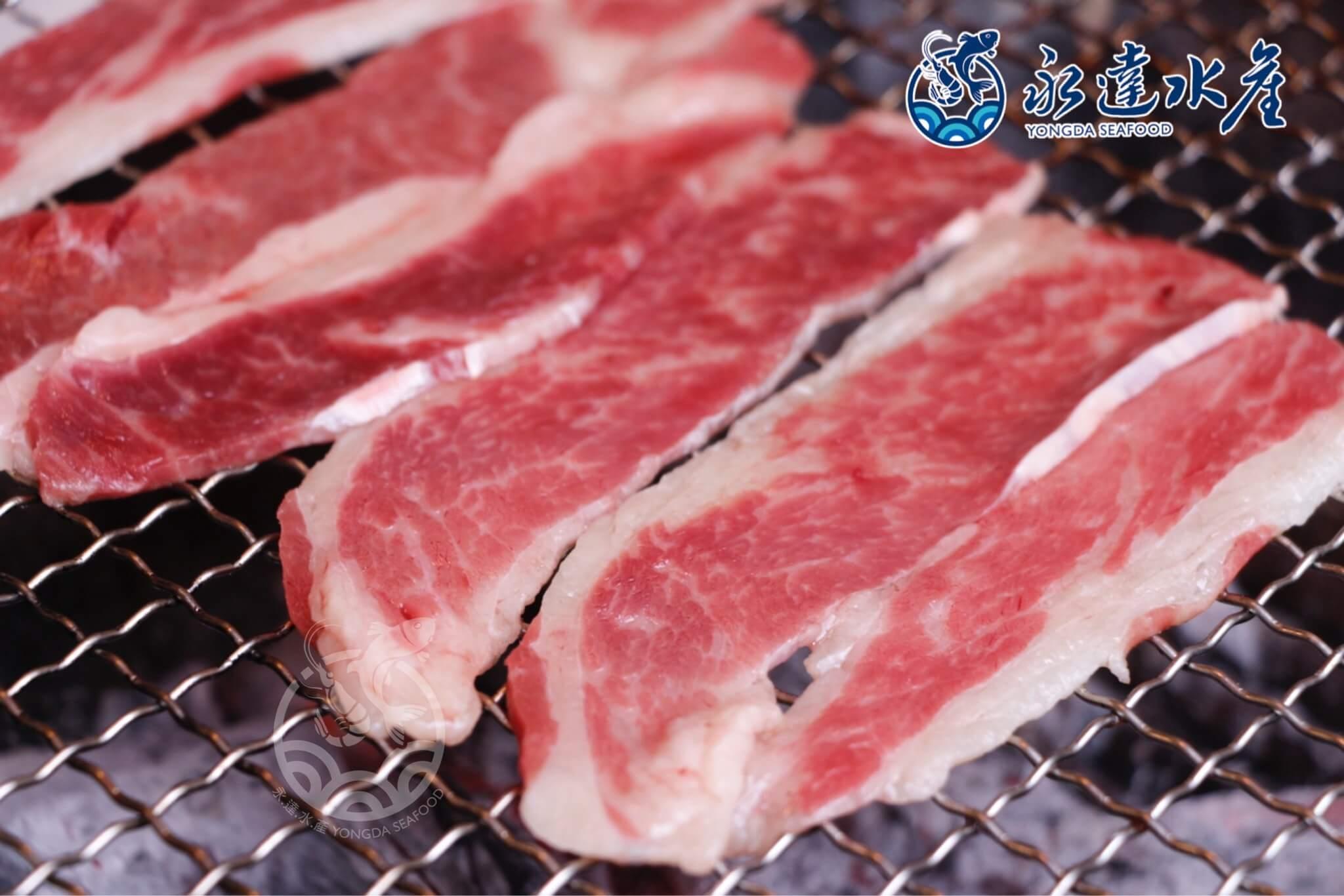 肉品|美國無骨牛小排燒烤片|牛小排|無骨排|牛肉片|牛排|牛肉