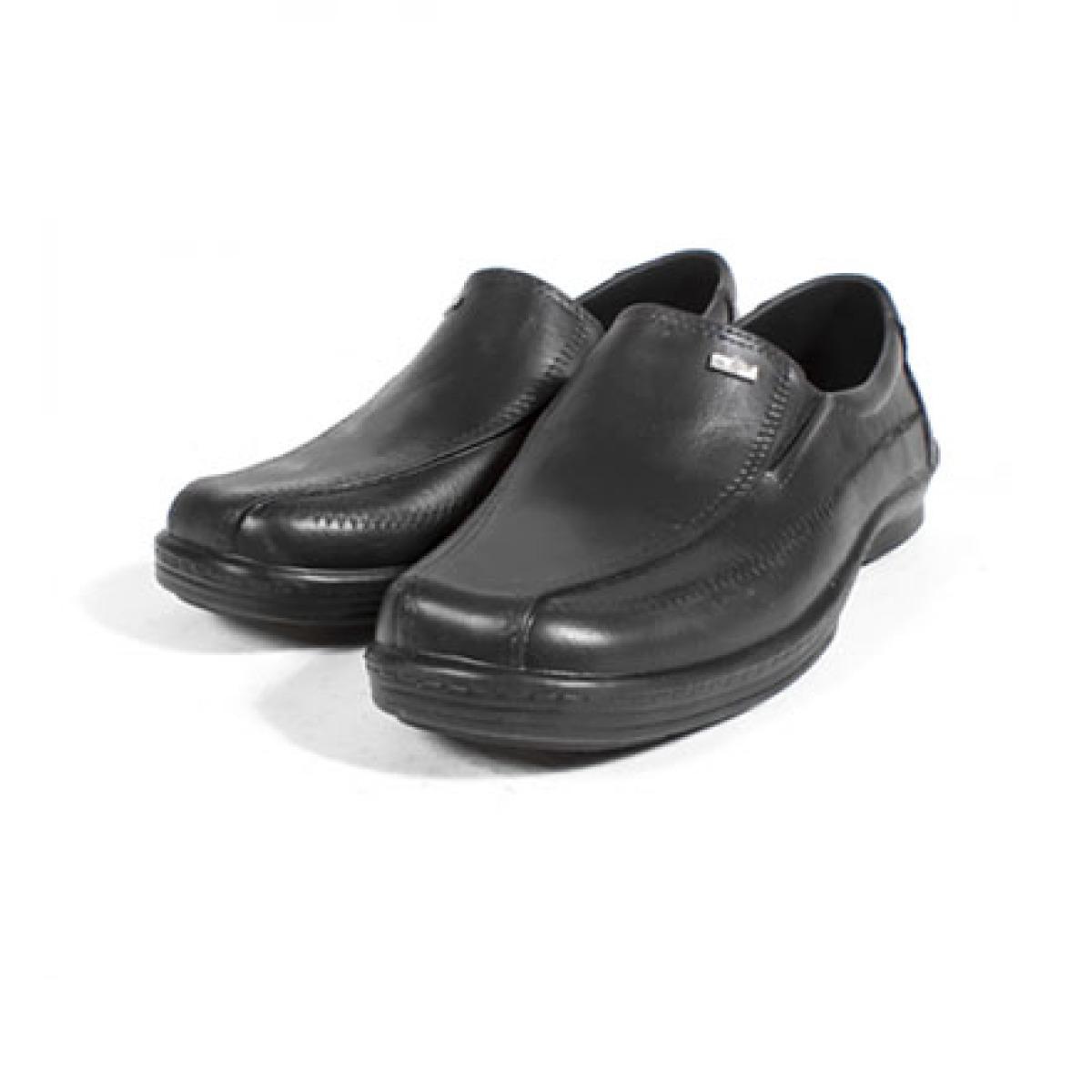 真皮皮鞋_商務雨天皮鞋/黑   牛頭牌・台灣鞋 Newbuffalo
