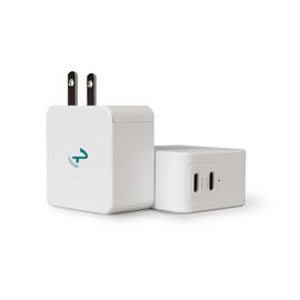 Allite|氮化鎵快充 史上最小65W雙孔充電器 iPhone12系列適用