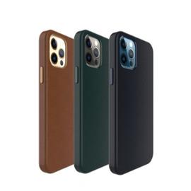 UNIU|iPhone12系列專用 CUERO 全包皮革保護殼 三色可選